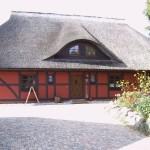 Fachwerk-Fassade